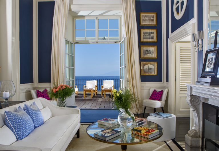 JK Place Capri Living Area