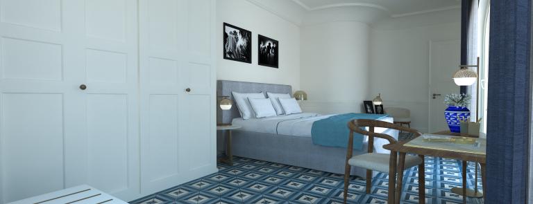 Borgo Santandrea Deluxe Suite 005boiserie
