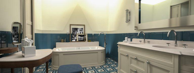 Borgo Santandrea Deluxe Suite bathroom suite 002