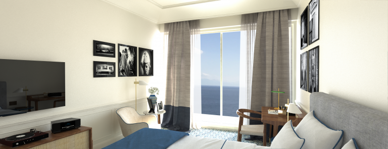 Borgo Santandrea Deluxe room sea view 001