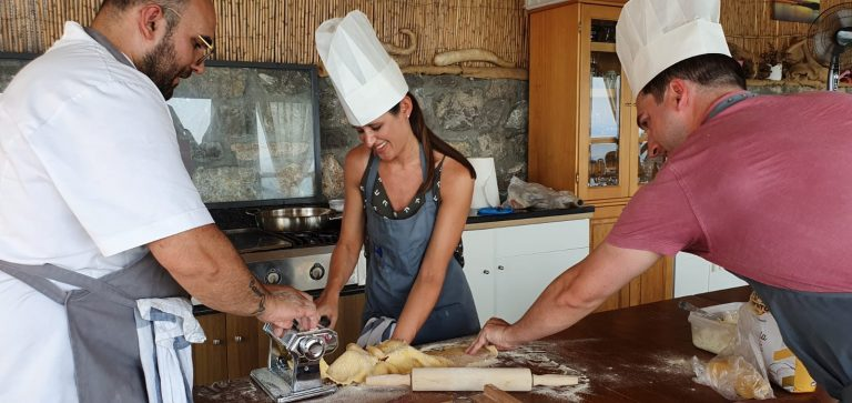 Italy My Way - Pasta Class with view in Amalfi