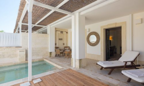 Canne Bianche_Lifestyle Hotel mastersuite outdoor